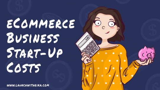 ecommerce business start-up costs cover image